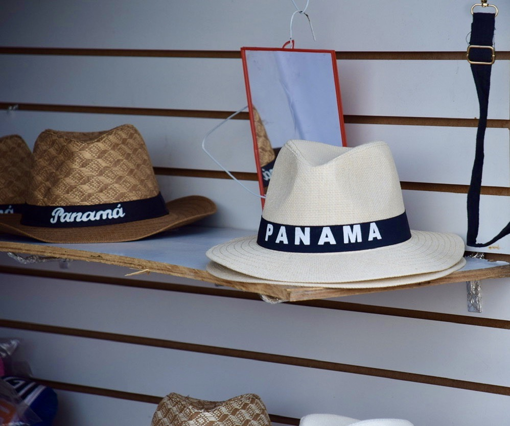 Panama hats everywhere