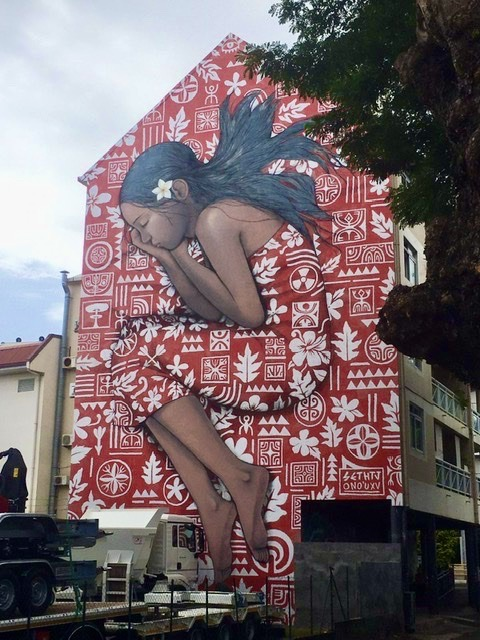 Street art in Papeete