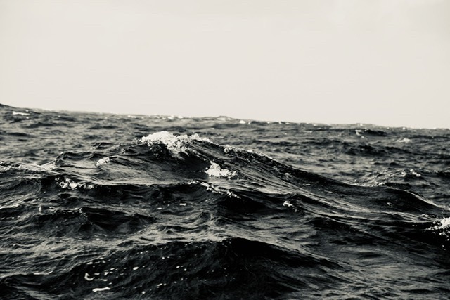 The sea is mounting