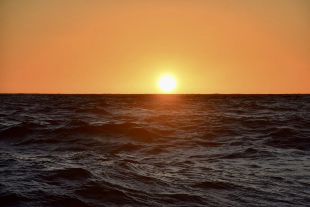 Sunset in the Timor Sea