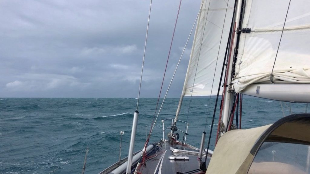 Sailing towards the Torres Strait