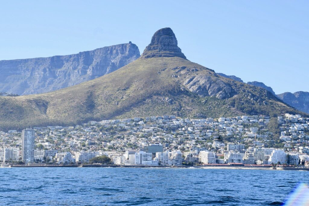 Our arrival in Cape Town