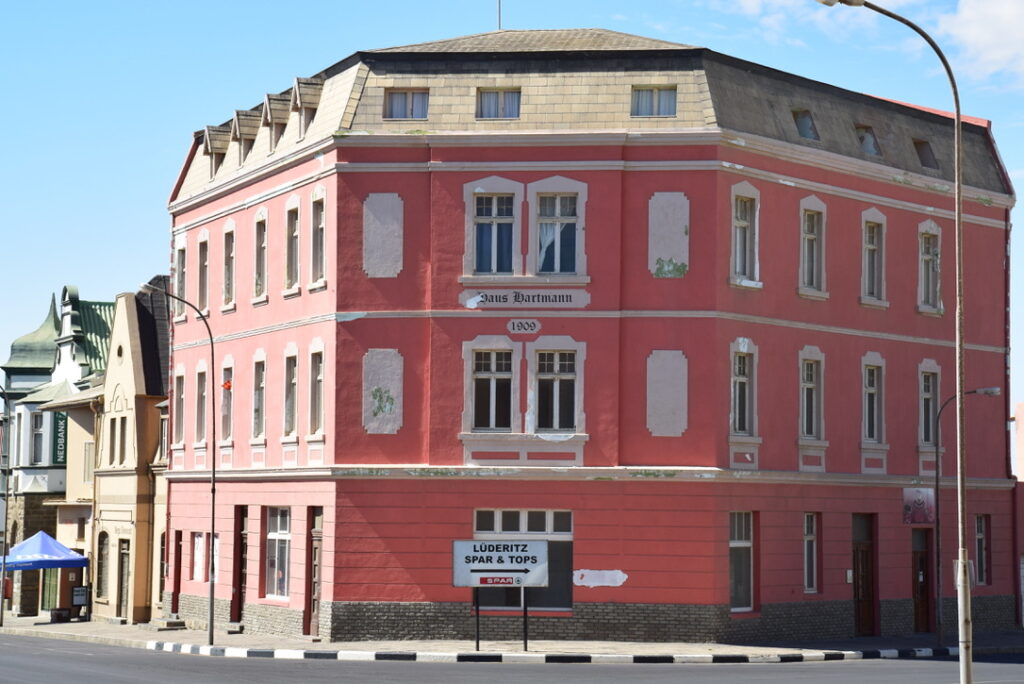 One of the buildings built in 1909