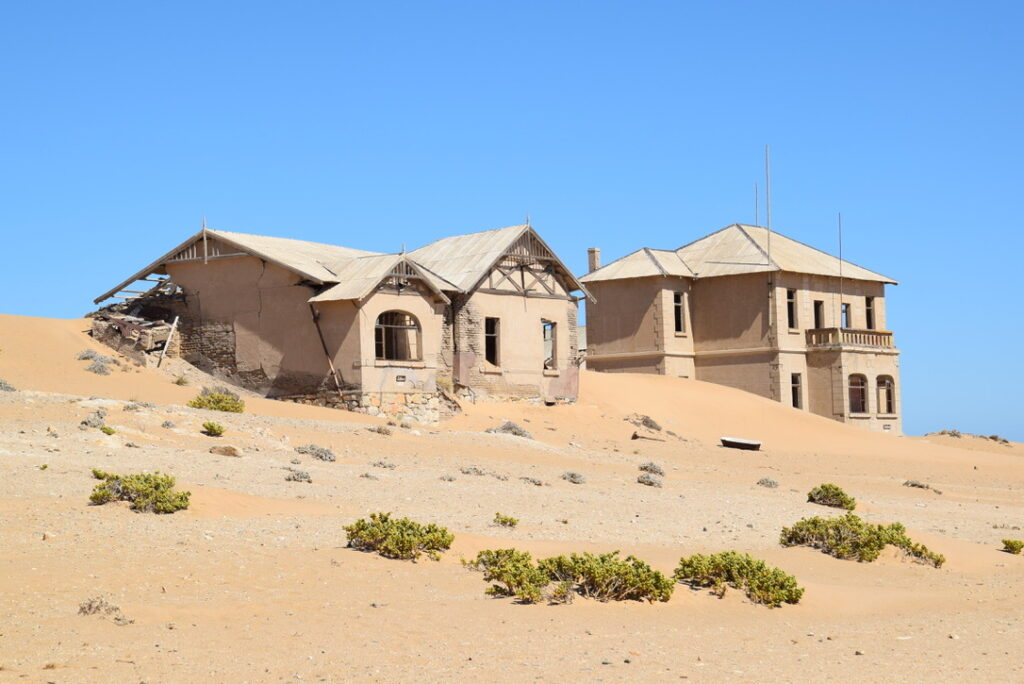 Some houses of the mine managers