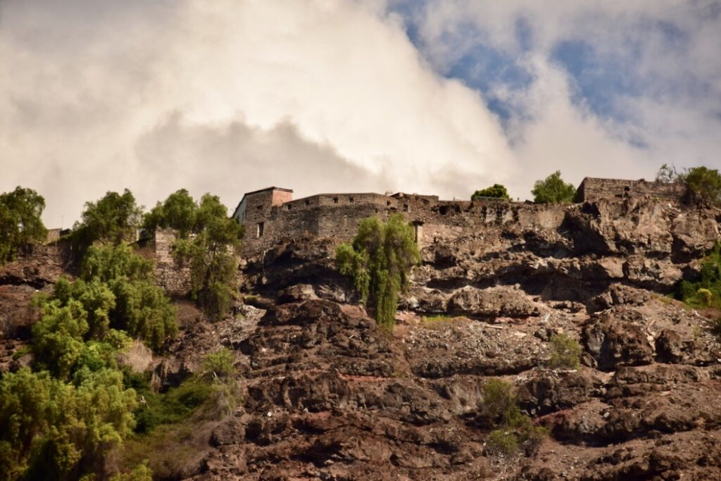 The Castle of Saint Helena seen from James Bay